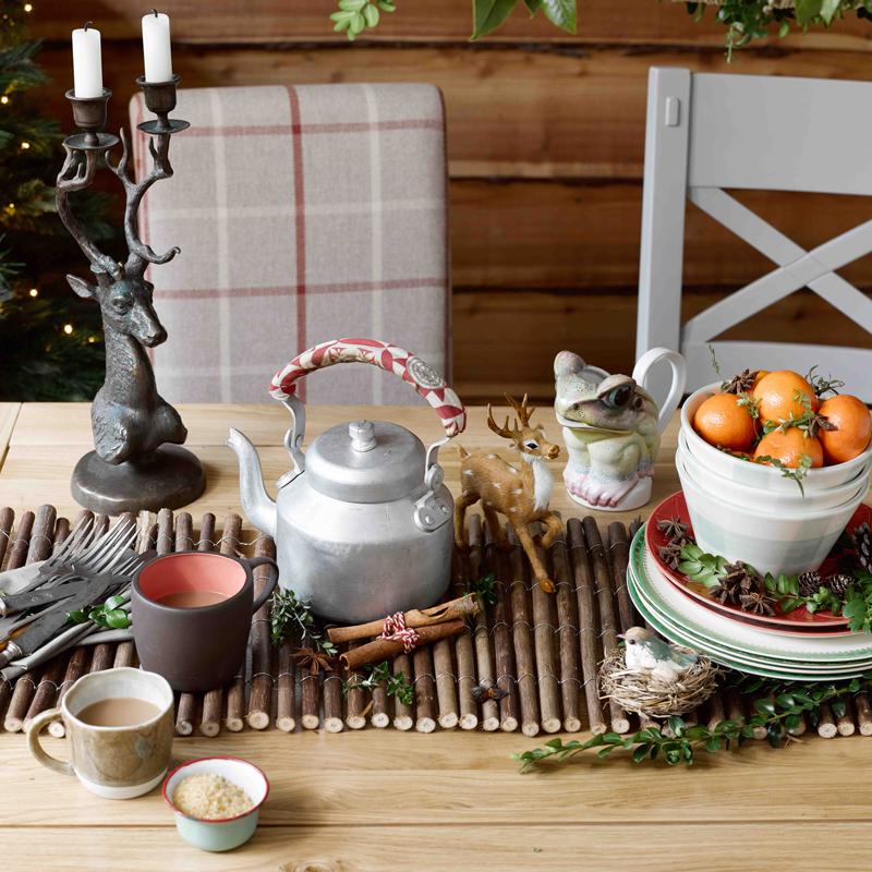 Décorer votre maison pour Noël 2020 - Fauteuil Rotin